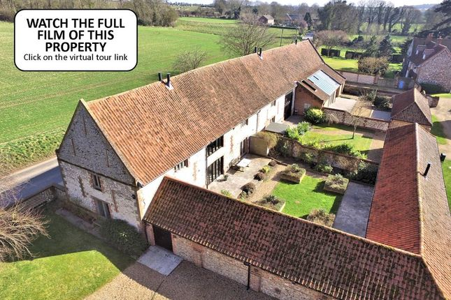 Thumbnail Barn conversion for sale in Burnham Road, South Creake, Fakenham