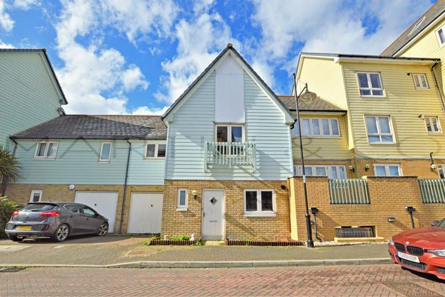 Thumbnail Terraced house to rent in Phalarope Way, St. Marys Island, Chatham
