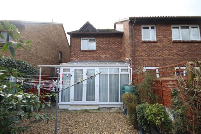 Thumbnail End terrace house for sale in Berrydale Road, Hayes, Middlesex