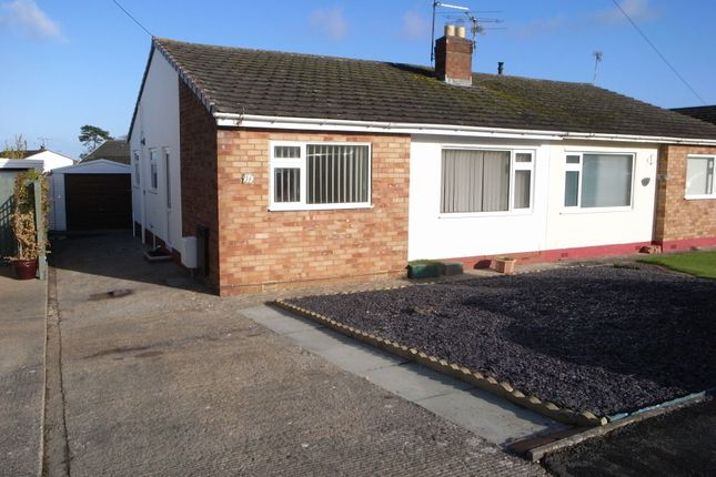 Thumbnail Semi-detached bungalow to rent in Lon Derw, Abergele