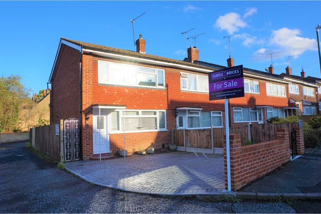 Thumbnail End terrace house for sale in Dudsbury Road, Dartford