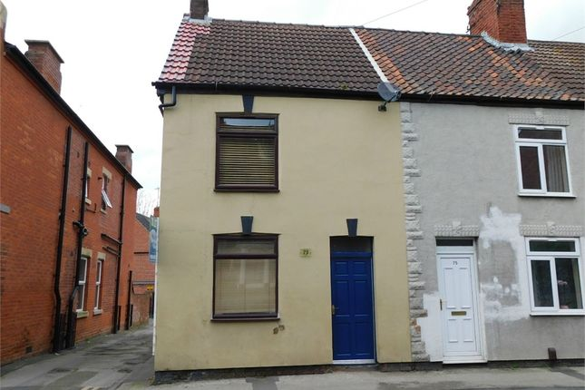 Thumbnail End terrace house to rent in Potter Street, Worksop, Nottinghamshire