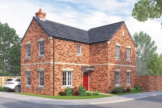 "Thumbnail Detached house for sale in ""The Hartlebury"" at Steeplechase Way, Market Harborough"