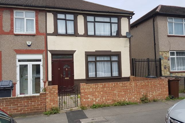 Thumbnail End terrace house to rent in Victorian Road, Dagenham