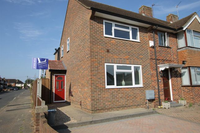 Thumbnail End terrace house for sale in Sunbury Lane, Walton-On-Thames