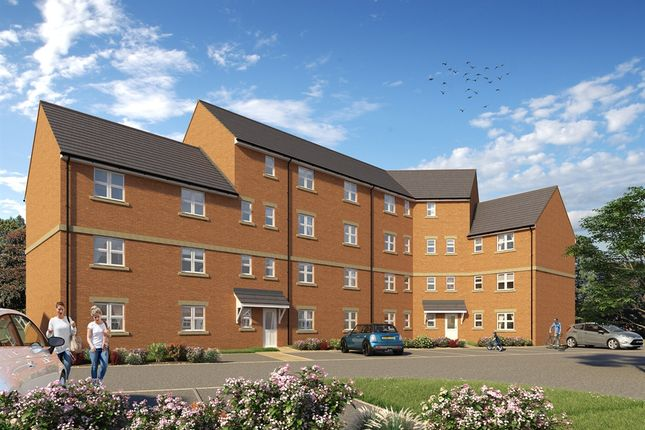 "Thumbnail Flat for sale in ""The Corby Apartments "" at Derwen View, Brackla, Bridgend"