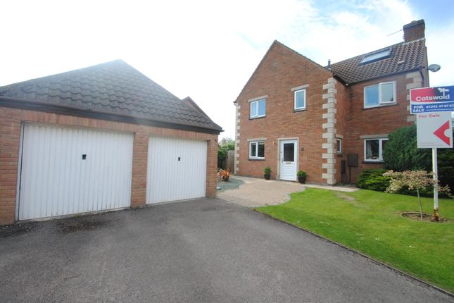 Thumbnail Detached house for sale in Wood Stanway Drive, Bishops Cleeve, Cheltenham