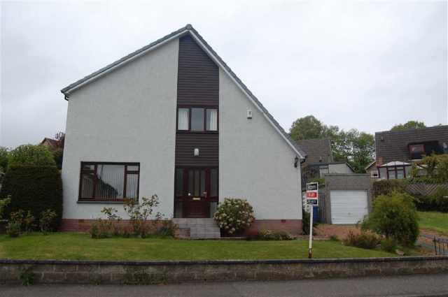 Thumbnail Detached house to rent in 2, Kilburn Road, Crossford KY12,