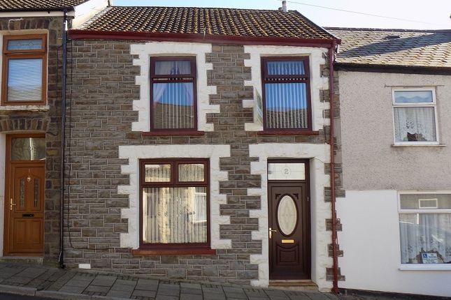 Thumbnail Terraced house for sale in Treharne Street, Pentre, Rhondda, Cynon, Taff.