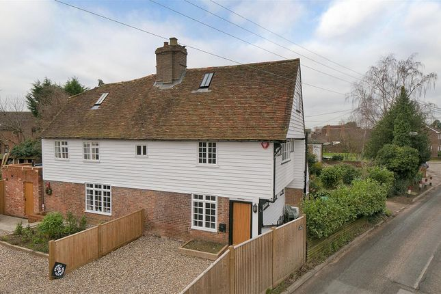 2 bed semi-detached house to rent in Howland Road, Marden, Tonbridge TN12