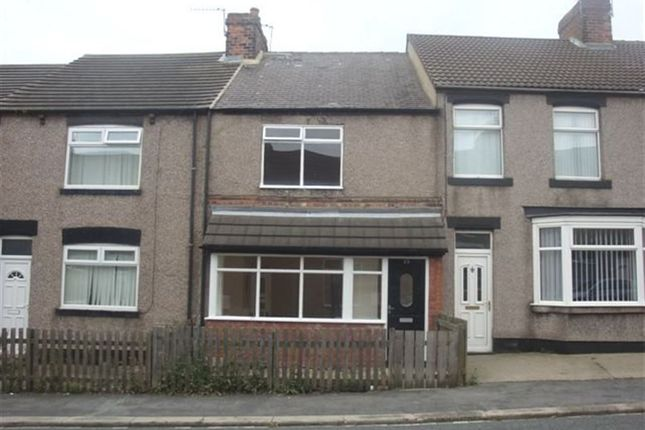 Thumbnail Terraced house to rent in Station Road West, Trimdon Colliery, Trimdon Station