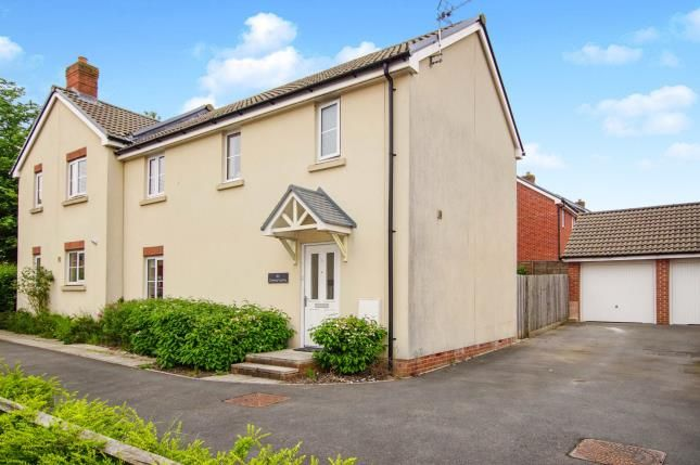 Thumbnail Semi-detached house for sale in Cromwell Close, Newtown, Berkeley, Gloucestershire