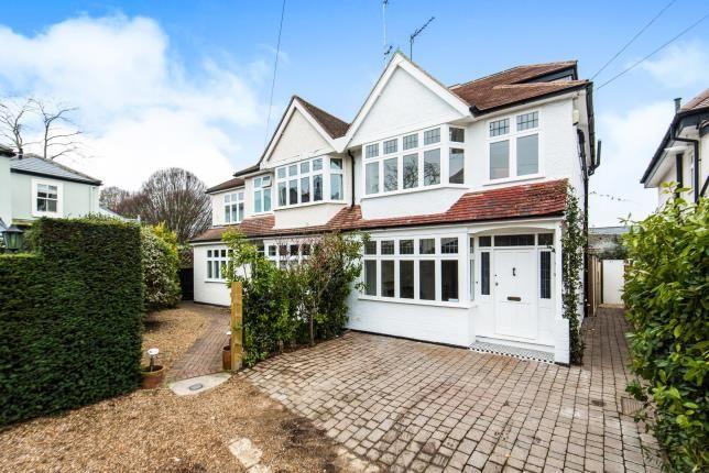 Thumbnail Semi Detached House For Sale In Petersham, Richmond, Surrey