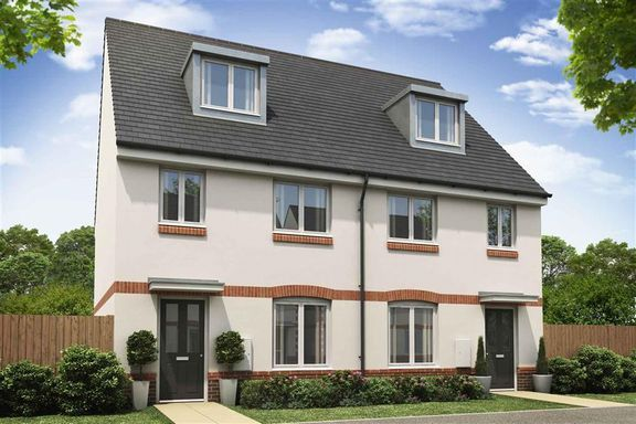 Thumbnail End terrace house for sale in Gale Way, Tiverton