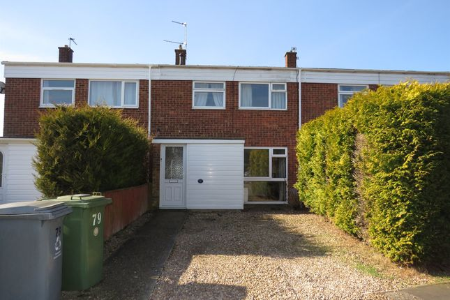 Thumbnail End terrace house for sale in Cere Road, Sprowston, Norwich