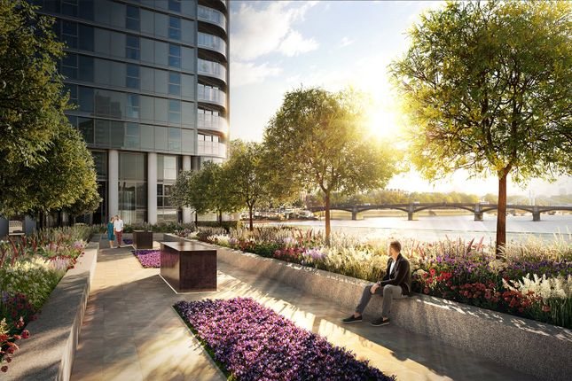 Thumbnail Flat for sale in Chelsea Waterfront, Lots Road, Chelsea, London
