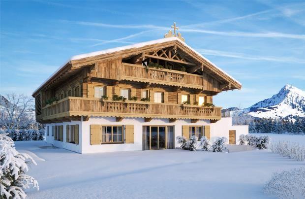 Thumbnail Property for sale in Chalet, Kirchberg, Tirol, Austria, 6365