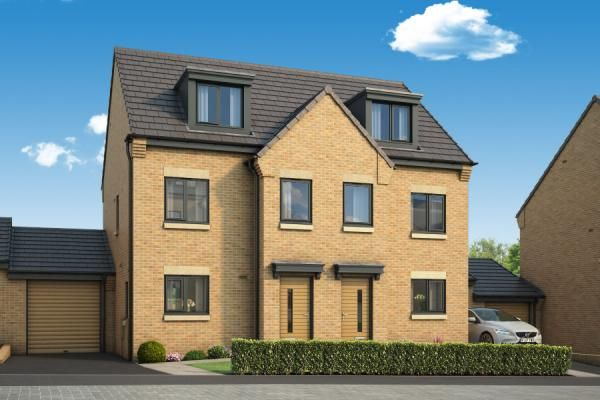 "Thumbnail Property for sale in ""The Berkshire At Serene, Leeds"" at South Parkway, Seacroft, Leeds"
