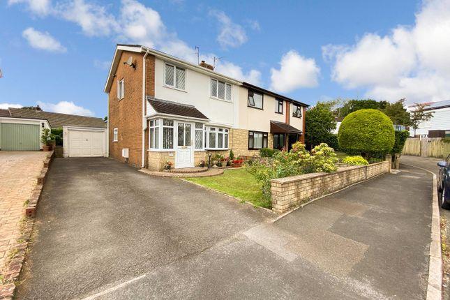 Thumbnail Semi-detached house for sale in Midfield Estate, Penperlleni, Pontypool