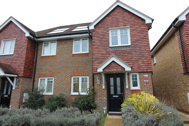 Thumbnail Semi-detached house for sale in Mole Place, West Molesey
