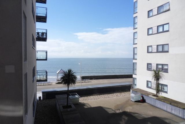 Thumbnail Flat to rent in Meridian Bay, Trawler Road, Swansea.