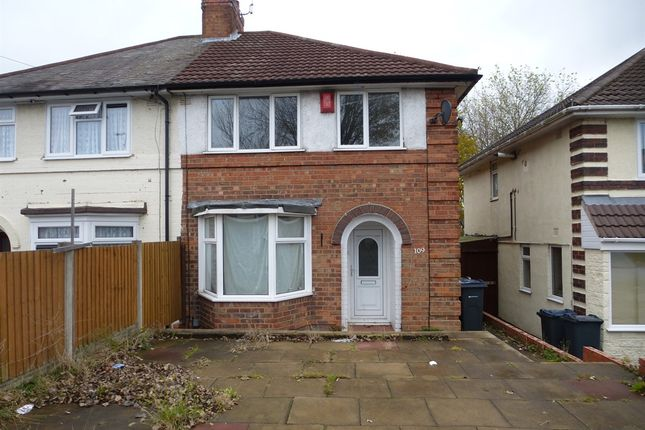 Thumbnail Semi-detached house for sale in Finchley Road, Kingstanding, Birmingham