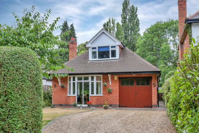 Thumbnail Detached bungalow for sale in Buddon Lane, Loughborough