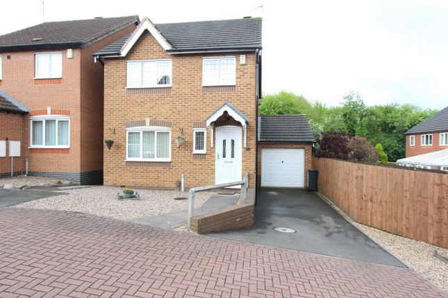 Thumbnail Detached house for sale in Parham Close, Leicester
