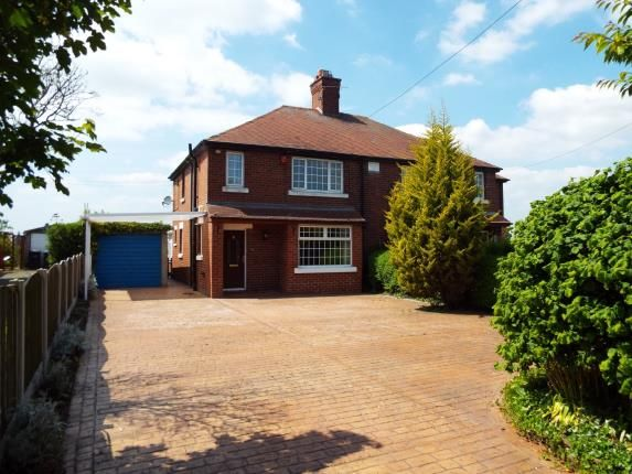 Thumbnail Semi-detached house for sale in Red Hall Cottages, Middlewich Road, Leighton, Crewe