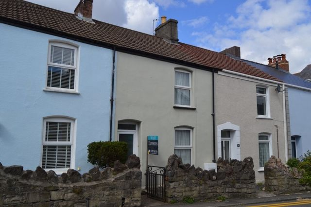 Thumbnail Terraced house to rent in Gower Place, Mumbles, Swansea