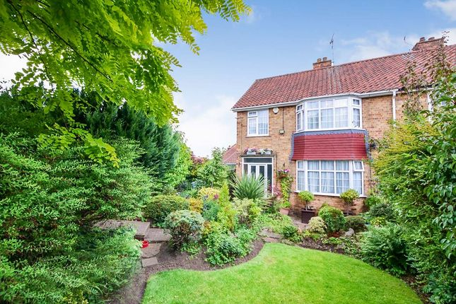 Thumbnail Semi-detached house for sale in Holgate Lodge Drive, York