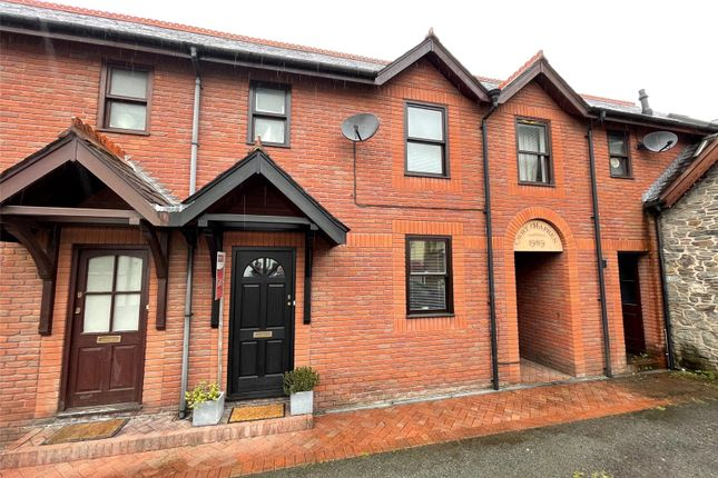 Thumbnail Terraced house for sale in Cwrt Hafren, Llanidloes, Powys