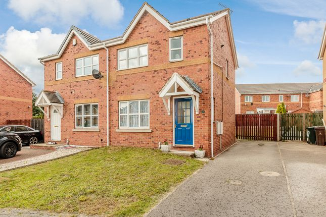 Thumbnail Semi-detached house for sale in Hollinswood Grove, Cudworth