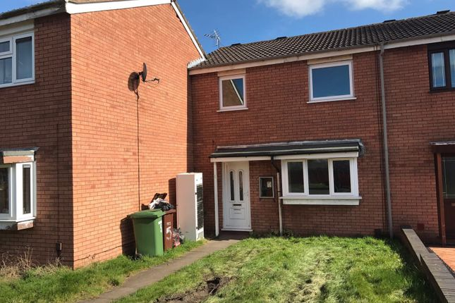 Thumbnail Terraced house to rent in Smallwood Road, Pendeford, Wolverhampton