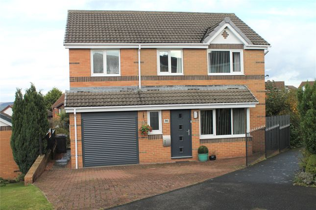 Thumbnail Detached house for sale in Ovington View, Prudhoe