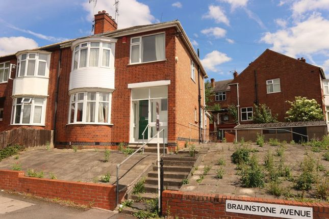 Thumbnail Semi-detached house for sale in Braunstone Avenue, West End