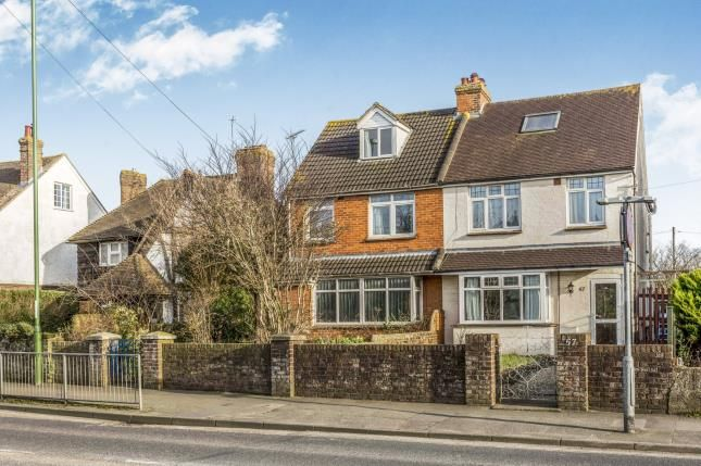 Thumbnail Semi-detached house for sale in Stockbridge Road, Chichester, West Sussex, England