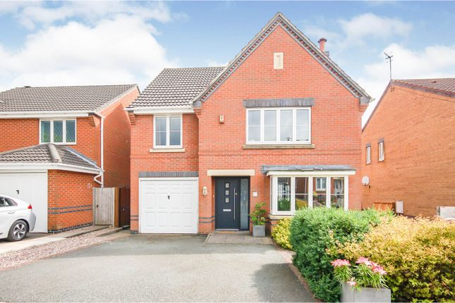 Thumbnail Detached house for sale in Chatsworth Park Avenue, Hanford, Stoke-On-Trent