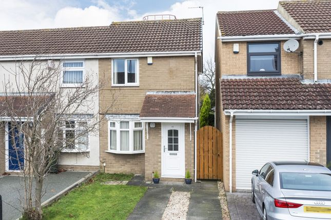 2 bed semi-detached house for sale in Rosedale Court, West Denton, Newcastle Upon Tyne NE5