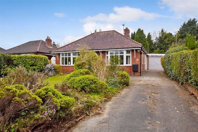 Thumbnail Detached bungalow for sale in Church Lane, Weaverham, Cheshire