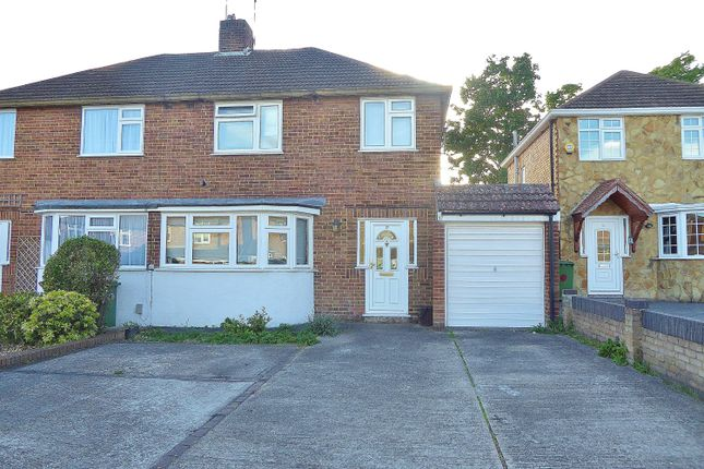 Thumbnail Semi-detached house to rent in Lynsted Close, South Bexleyheath, Kent