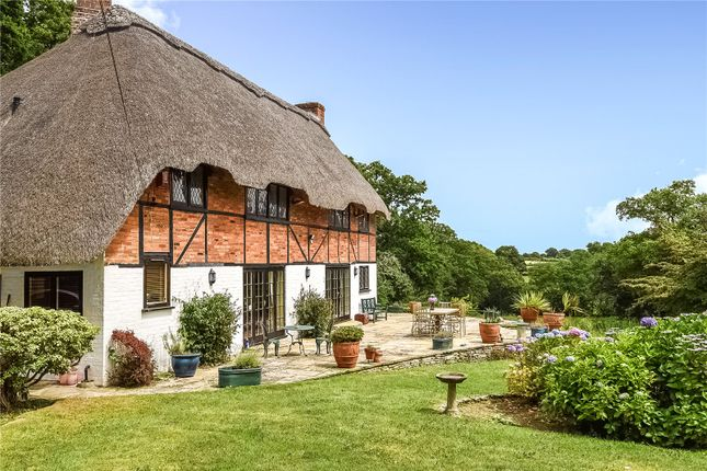 Thumbnail Detached house for sale in Old Vicarage Lane, Sway, Lymington, Hampshire