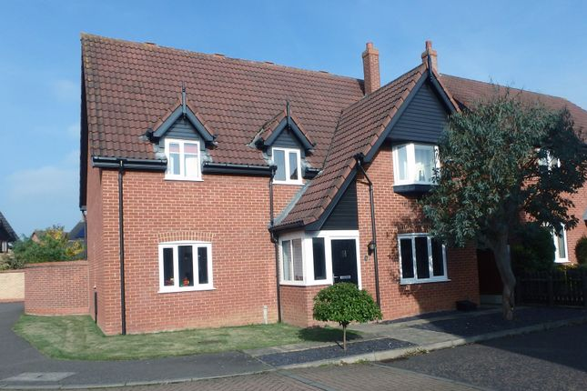 Thumbnail Detached house for sale in Foxglove Drive, Dereham