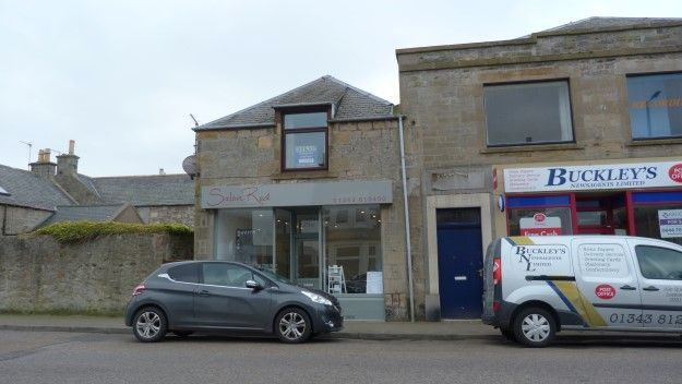 Thumbnail Flat to rent in Queen Street, Lossiemouth