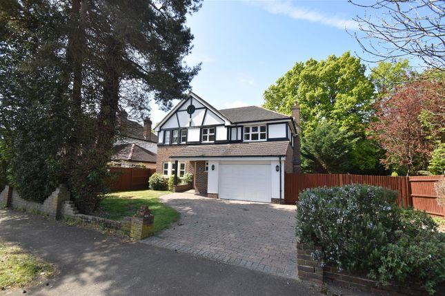Thumbnail Detached house for sale in Upfield, Horley