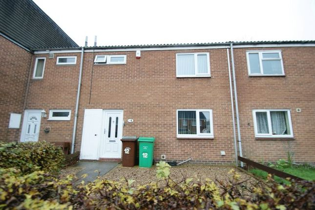 Thumbnail Terraced house to rent in Rosewood Gardens, Bulwell, Nottingham