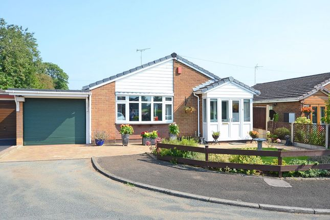Thumbnail Detached bungalow for sale in Manor Close, Draycott