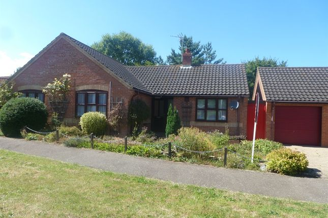 Thumbnail Detached bungalow for sale in Woodfield Road, Holt