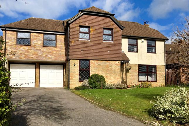 Thumbnail Detached house for sale in Fennel Close, Chineham, Basingstoke, Hampshire