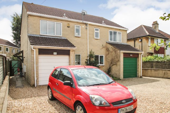 Thumbnail Semi-detached house for sale in Wellsway, Bath